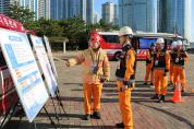 해운대소방서, 한·아세안 정상회의 대비 불시 긴급구조통제단 가동훈련 실시
